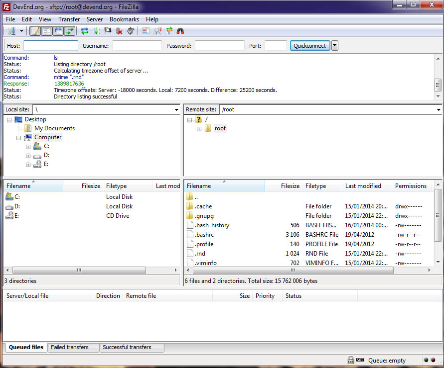 filezilla what is ftp